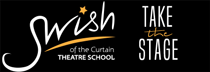 Swish of the Curtain Logo